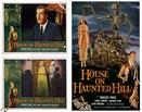 house-on-haunted-hill-1958-and-2-lobby-cards-movie-poster