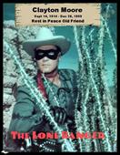 in memorium clayton moore movie poster