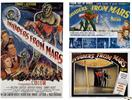 invaders from mars 1953 and 2 lobby cards