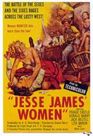 jesse james women 1954 movie poster