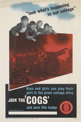 join the cogs war poster