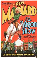 ken maynard the wagon show 1927