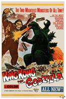 king kong vs godzilla 1962 movie poster