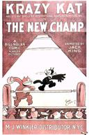krazy kat the new champ 1925