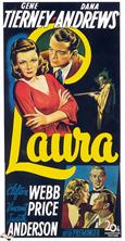 laura 1944 movie poster