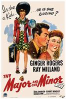 major and the minor 1942 movie poster