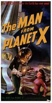 man from planet x 1951 movie poster