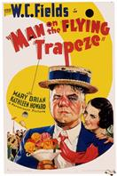 man on the flying trapeze 1935 movie poster