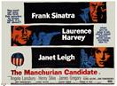 manchurian candidate 1962 movie poster