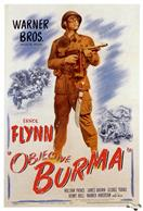 objective burma 1945 movie poster