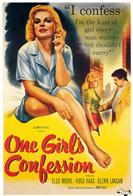 one girls confession 1953