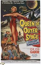 queen of outer space 1958 movie poster