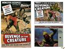 revenge of the creature 1955 and 2 lobby cards