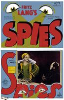 spies-1928-lobby-cards-movie-poster