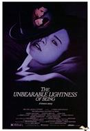 unbearable lightness of being 1988 movie poster