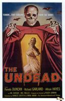 undead 1957 movie poster
