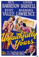 unfaithfully yours 1948 movie poster