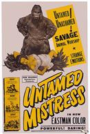 untamed mistress 1953 movie poster