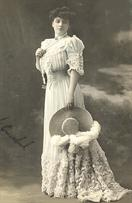 victorian fashion 1900s hat lovely