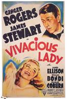 vivacious lady 1938 movie poster