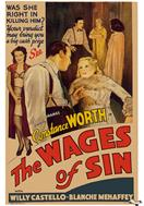 wages of sin 1938 movie poster