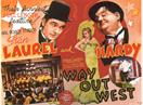 way out west 1937 movie poster
