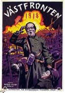 westfront 1918 1930 sweden movie poster