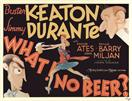 what no beer 1933 movie poster