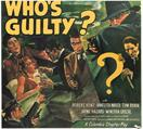 whos guilty 1945 movie poster