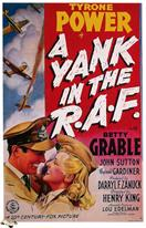 yank in the r a f 1941 movie poster