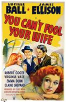 you cant fool your wife 1940 movie poster