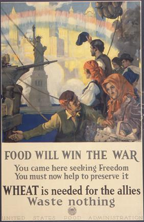 you must now help to preserve i wheat is needed for the allies war poster