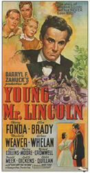 young mr lincoln 1939 movie poster