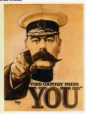 your country needs you war poster