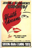 youth aflame 1945 movie poster