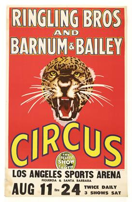 Vintage Circus Posters 1